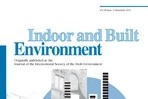 Indoor and Built Environment | 暖通专业推荐期刊